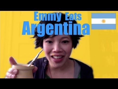 Emmy Eats Argentina - How to Make Yerba Mate, ¡Hola! Eating Argentina in this episode of Emmy Eats on Emmymade in Japan. Emmy Eats the US - York Peppermint Patties http://www.youtube.com/watch?v=MMmJLpEA...