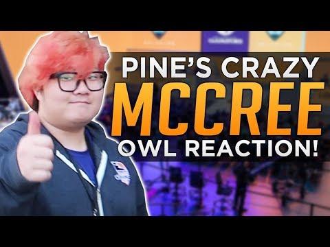 Overwatch: Pine's CRAZY McCree! - OWL Reaction VLOG