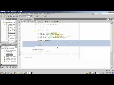 Java - JDBC Databases - SQL - 2 of 3