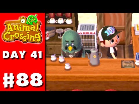 Animal Crossing: New Leaf - Part 88 - Coffee Employee (Nintendo 3DS Gameplay Walkthrough Day 41), Thanks for every Like and Favorite! They really help! This is Part 88 of the Animal Crossing: New Leaf Gameplay Walkthrough for the Nintendo 3DS! On Day 41, ...