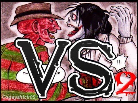 freddy krueger vs jeff the killer-PARTE 2Jeff The Killer Vs Freddy Krueger