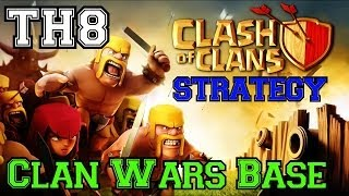Clash Of Clans: Clan War Base Anti-Hog, Anti-Dragon