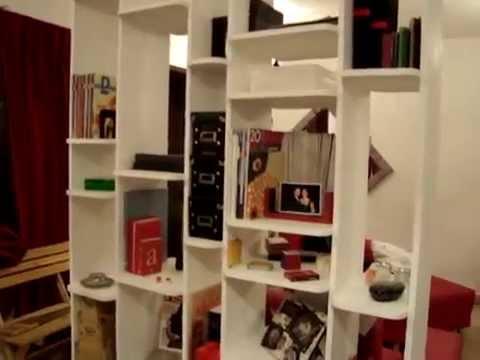 Muebles sobre dise o librero separador youtube for Muebles sobre diseno
