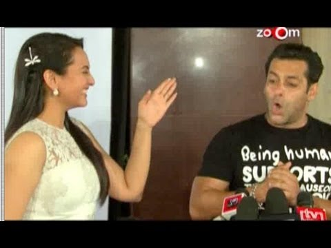 Salman Khan ignores Sonakshi Sinha at an event