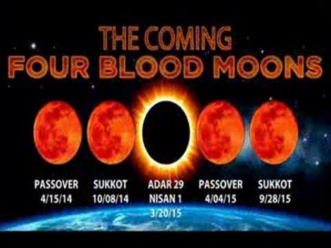 Red Blood Moon Tetrad 2014 - 2015!!! - YouTube