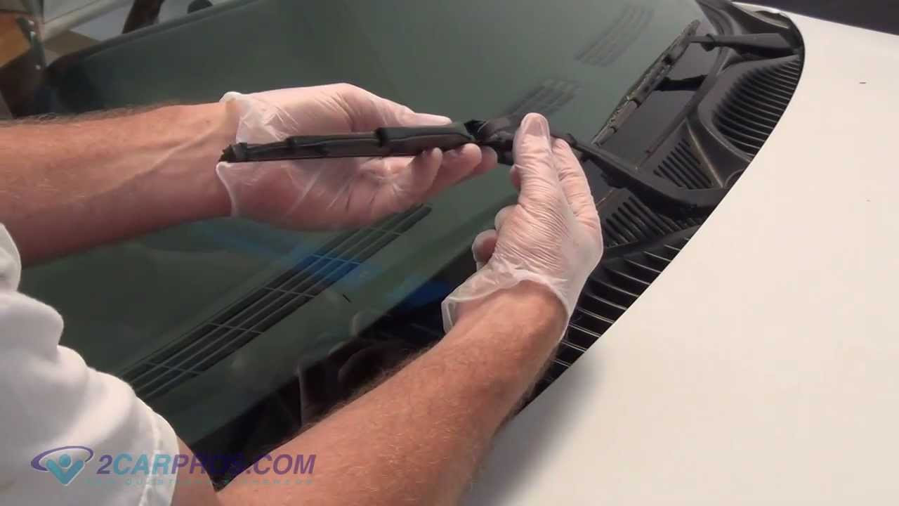 Windshield Wiper Blades Replacement How To Youtube