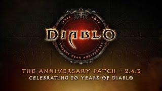 Diablo III - Évfordulós Frissítés 2.4.3