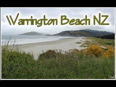 Warrington Beach Blueskin Bay NZ Otago South Island New Zealand
