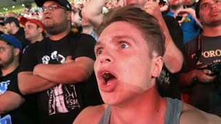 INSANE LIVE WRESTLEMANIA 31 REACTIONS