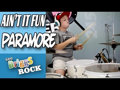Ain't It Fun Paramore Drum Cover See Briggs Rock Drum cover