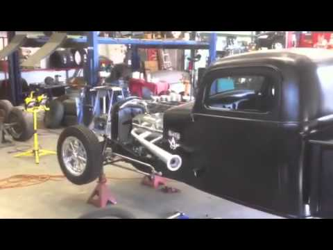 MTO Motors 36 Dodge bobber truck