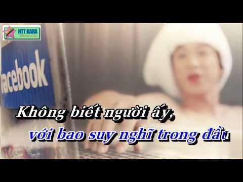 [Karaoke] Chuyện Tình Trên Facebook - Hồ Việt Trung (full beat)