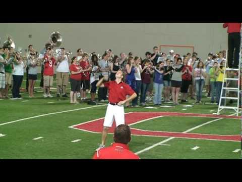 Jason Stuckert 2010 OSU Drum major tryouts