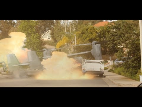 Helicopter Crash VFX