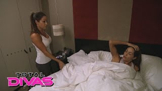 Nikki Bella has security open Brie's door after she doesn't answer: Total Divas, February 15, 2015