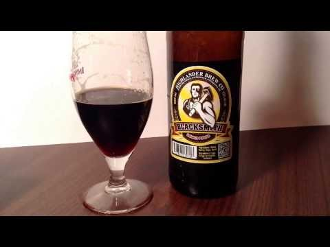 420: Highlander Brew Co: Blacksmith Smoked Porter