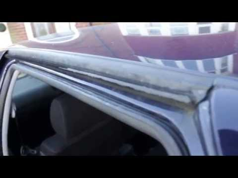 Fitting Thule roof bars to VW Golf Mk4 Hatchback