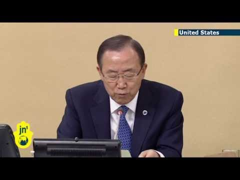 Syria set to dominate UN General Assembly: Ban Ki-moon opens UNGA with plea to resolve conflict