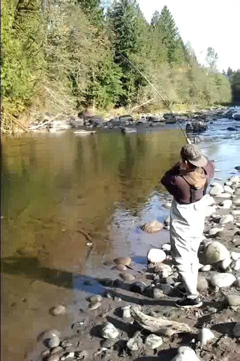 Sandy river coho salmon fishing 2011 youtube for Sandy river fishing