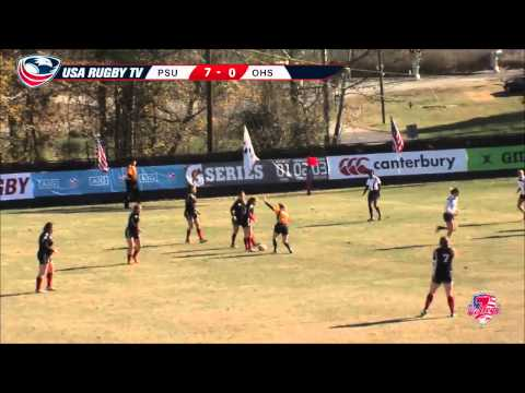 2013 USA Rugby College 7s National Championship: Penn State vs Ohio State