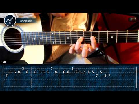 Como tocar Piratas del Caribe PARTE 3 (HD) Tutorial Guitarra