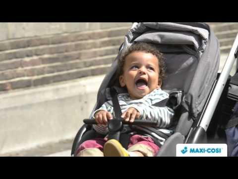 Maxi Cosi Stella Pushchair Black Raven