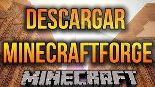 MinecraftForge Para Minecraft 1.7.10/1.7.2/1.6.4 Descargar