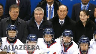 🇰🇷 🇰🇵 Korea's unified ice hockey team debuts at Olympics