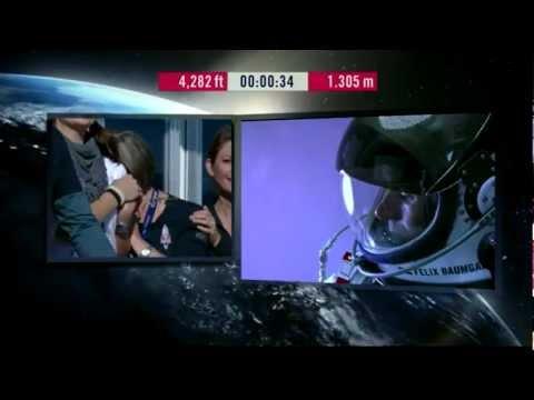 felix baumgartner jumping from 39 miles!