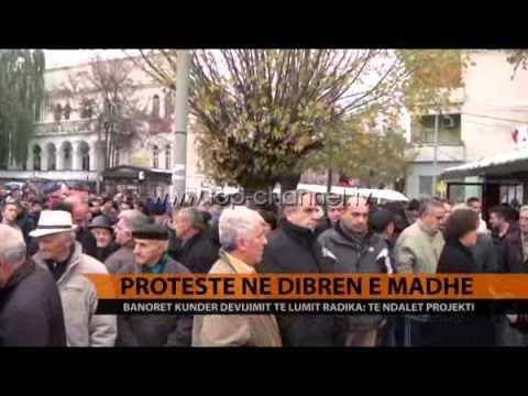 Protestë në Dibrën e Madhe  - Top Channel Albania - News - Lajme