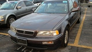 1994 Acura Legend LS 3.2L V6 Start Up, Quick Tour, & Rev With Exhaust View - 129K