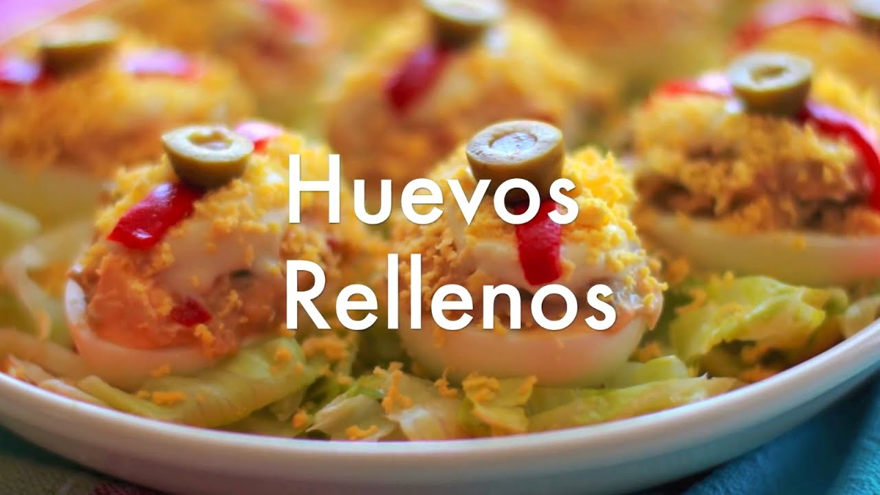 Huevos rellenos recetas de cocina f cil youtube - Youtube videos de cocina ...