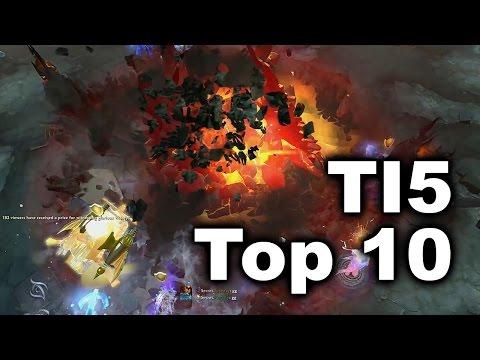 TI5 TOP 10 Plays - Dota 2