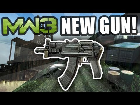 New MW3 DLC - New AK-74u gun! Rust & Shipment Face Off Maps! (Modern Warfare 3 DLC)
