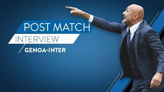 GENOA-INTER | Post match reactions from Luciano Spalletti