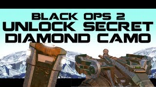 Black Ops 2 DIAMOND CAMO Specials How To Unlock Diamond