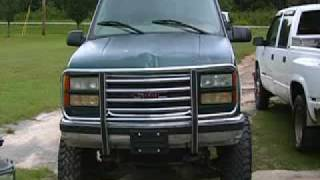 Jacked UP 1997 GMC Z71 4X4