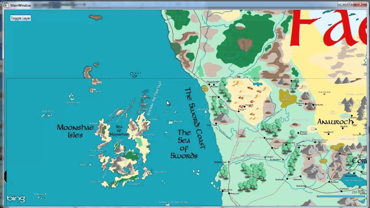 Forgotten Realms Atlas - Tile Map - YouTube