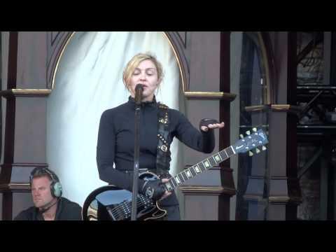 Madonna - MDNA - soundcheck Buenos Aires - habla con el publico (13.12.12)