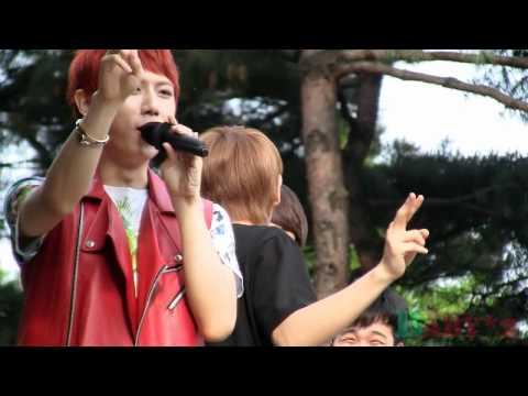 [FANCAM] 110522 BEAST mini fanmeeting - Hyunseung & Yoseob