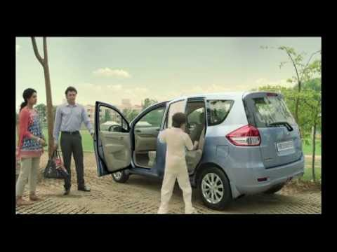 Maruti Suzuki Ertiga Car Latest Advertisement