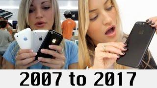 10 Years of iPhones   iJustine