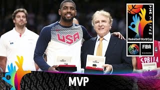 Kyrie Irving - MVP of the 2014 FIBA Basketball World Cup