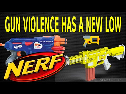 VIOLENCE JUST GOT FUNNY... GUN CONTROL NEEDED..