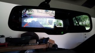 7 Inch Rear View Mirror LCD Monitor: Unboxing