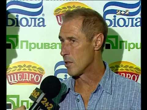 Олег Таран после игры с Черноморцем
