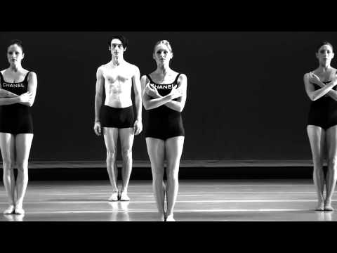 "Raiford Rogers Modern Ballet - Black & White ""CHANEL"""