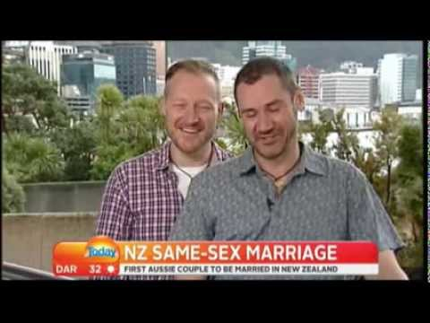 Australian First Aussie Same-Sex Couple to be Married in New Zealand
