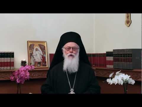 Πάσχα 2012, Μήνυμα Αρχιεπισκόπου Αλβανίας