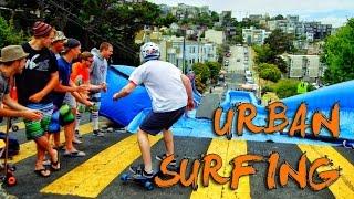Surfing di tengah kota